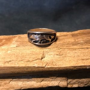 Jewelry - Sterling Silver Wolf Ring